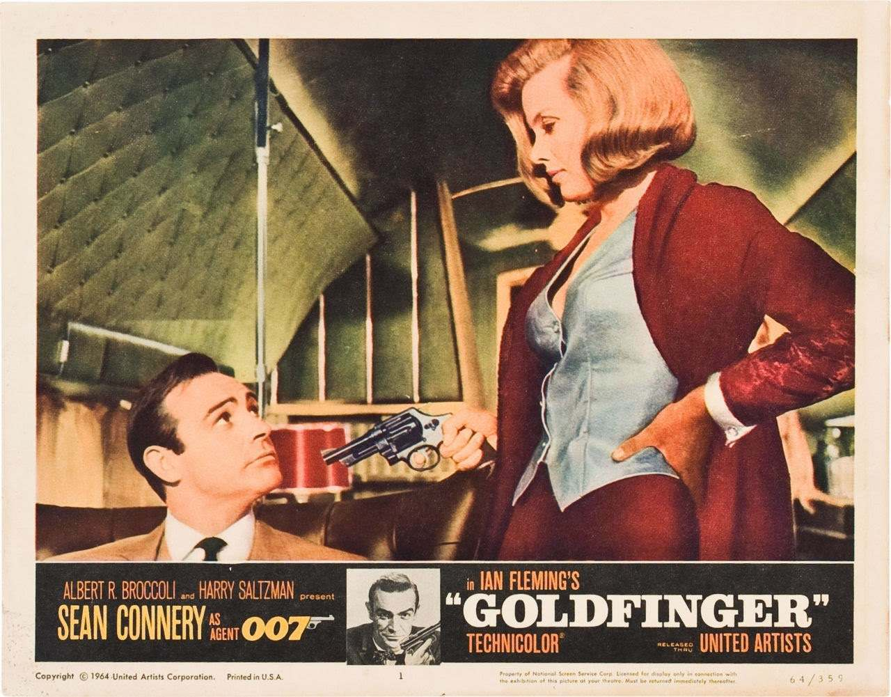 Goldfinger lobby card