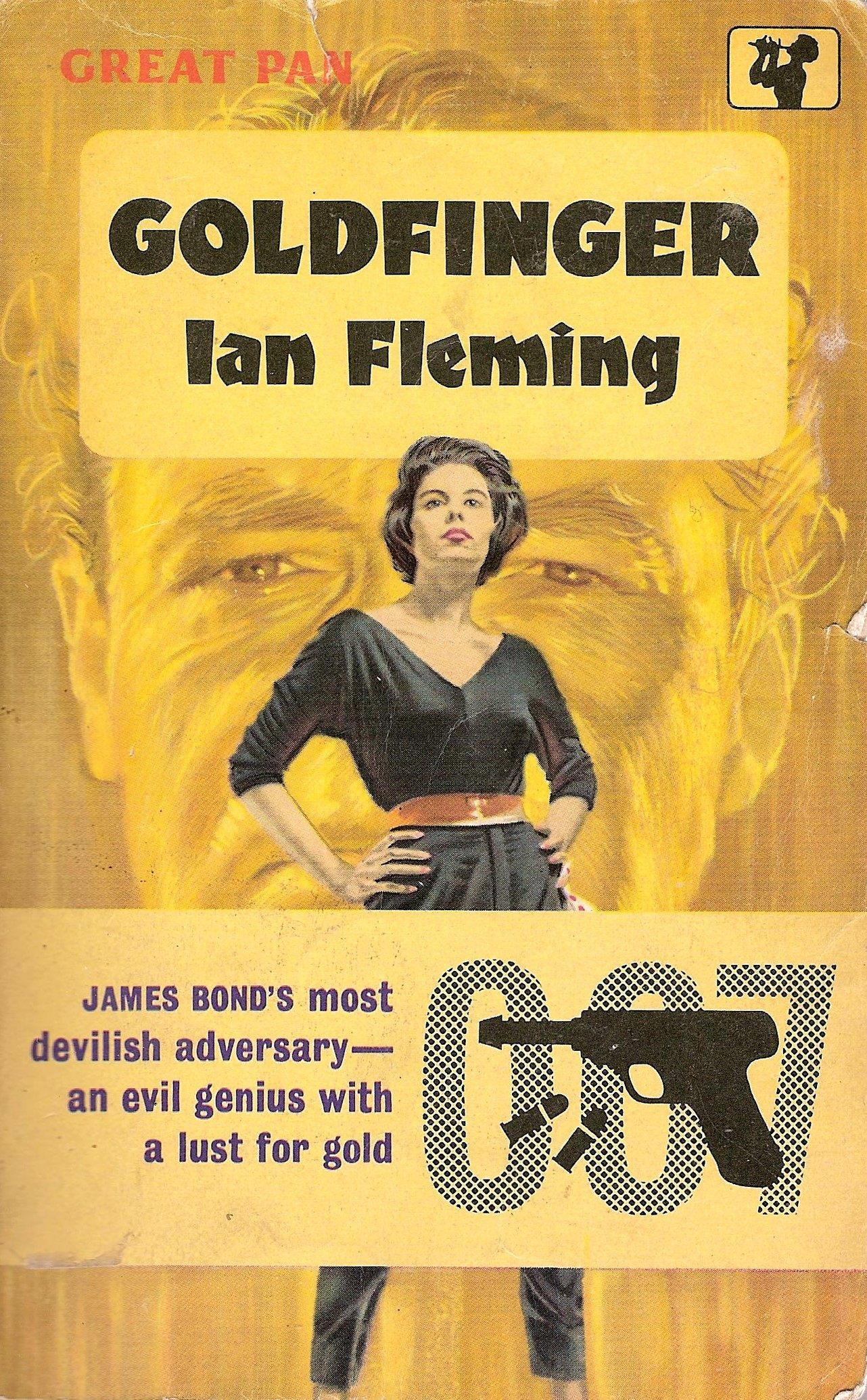 Pan edition of Goldfinger published in 1961