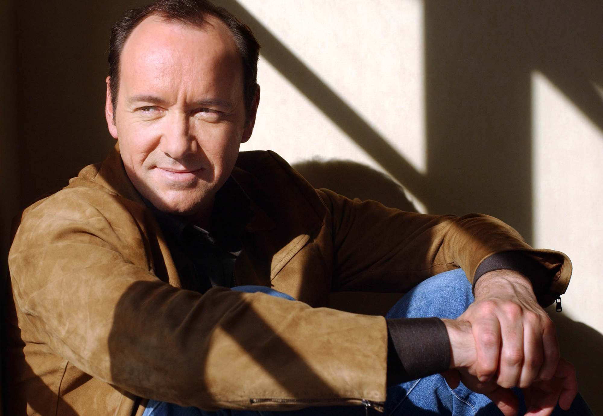 Kevin Spacey poses at the Four Seasons Hotel in Beverly Hills, Calif., Nov. 16, 2004.