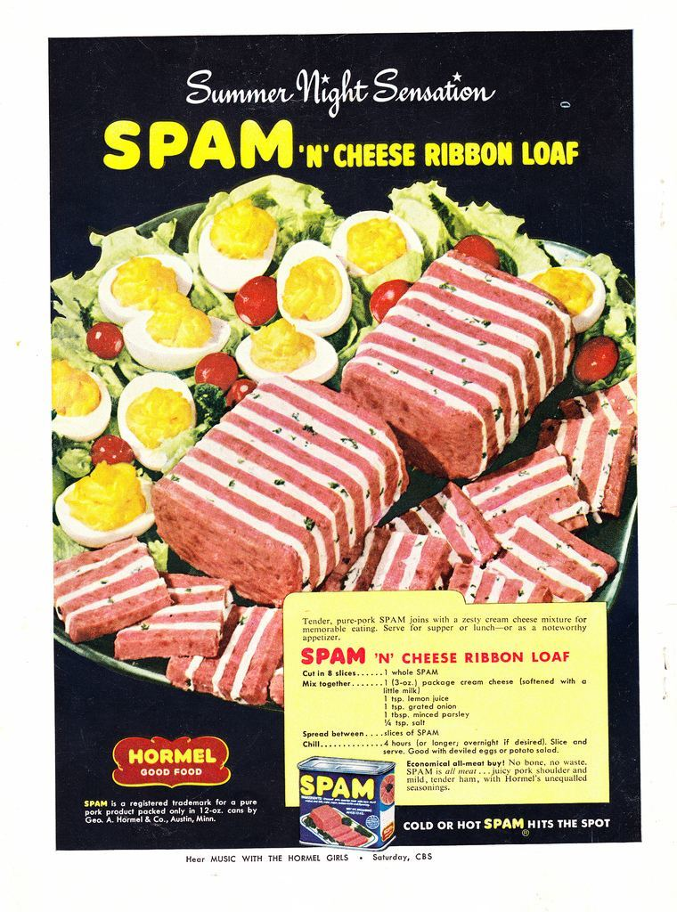 Make Your Summer Night Sensational With Spam Better Living, June 1951