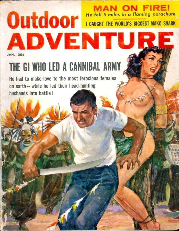 Outdoor Adventure - January 1959