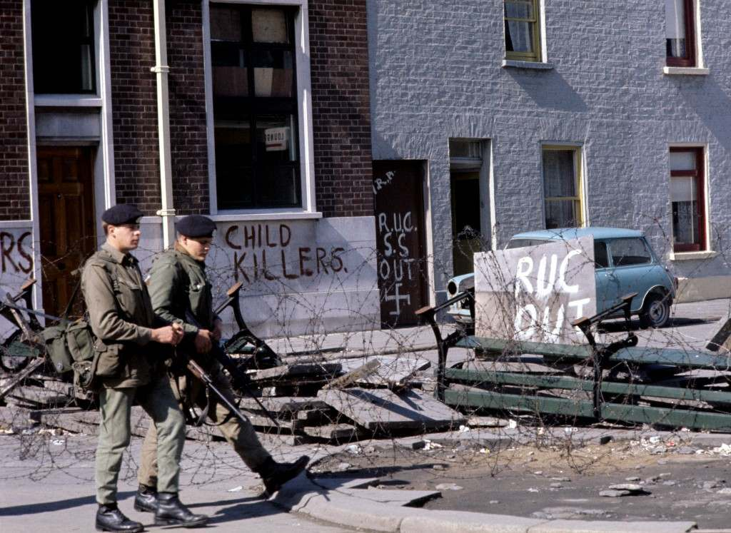 Northern Ireland - The Troubles - British Soldiers - Belfast - 1969
