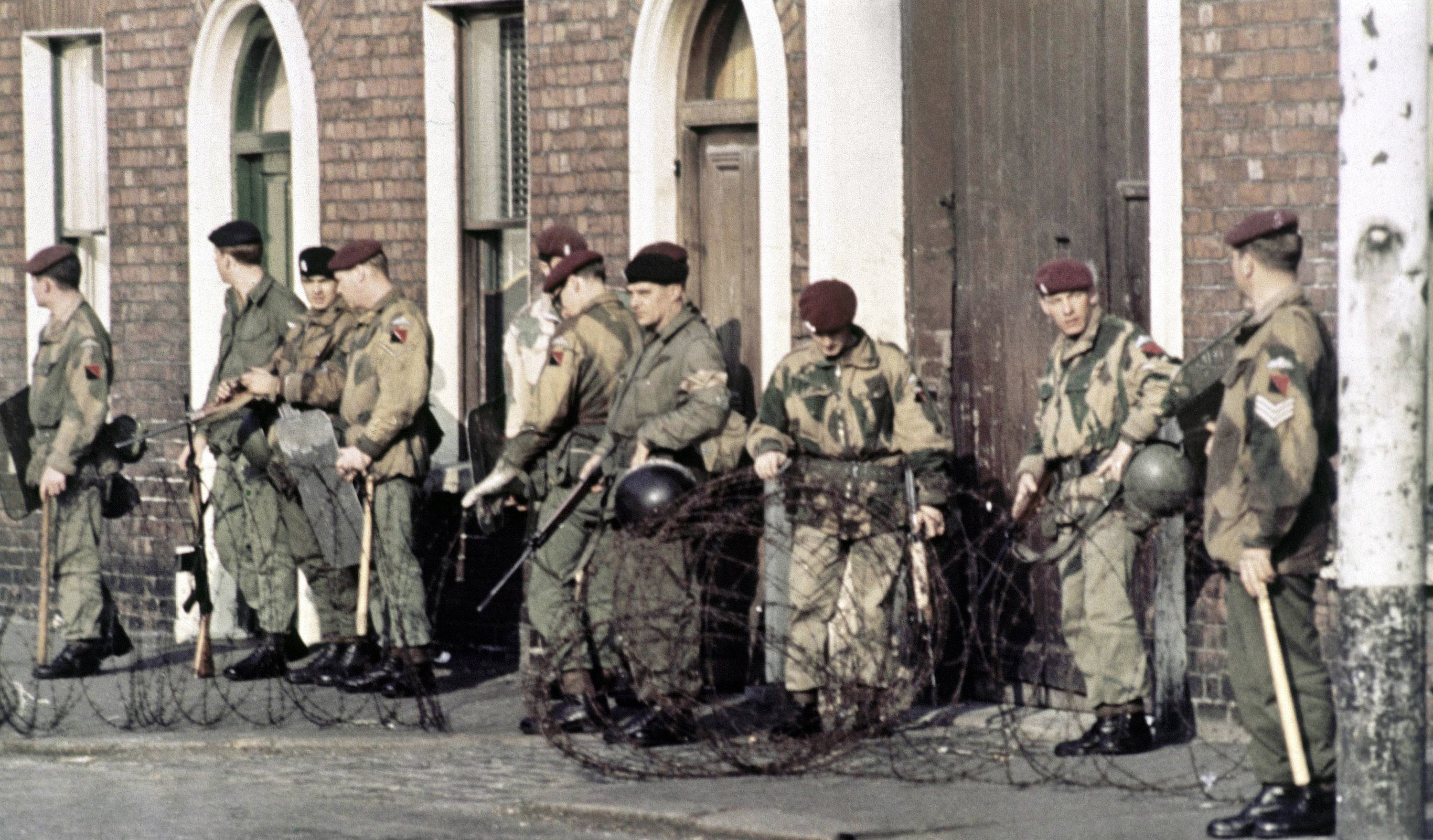 Northern ireland army