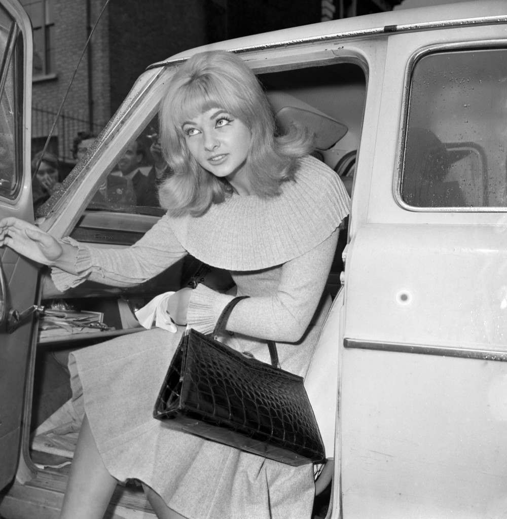 File photo 29/06/63 of Mandy Rice-Davies