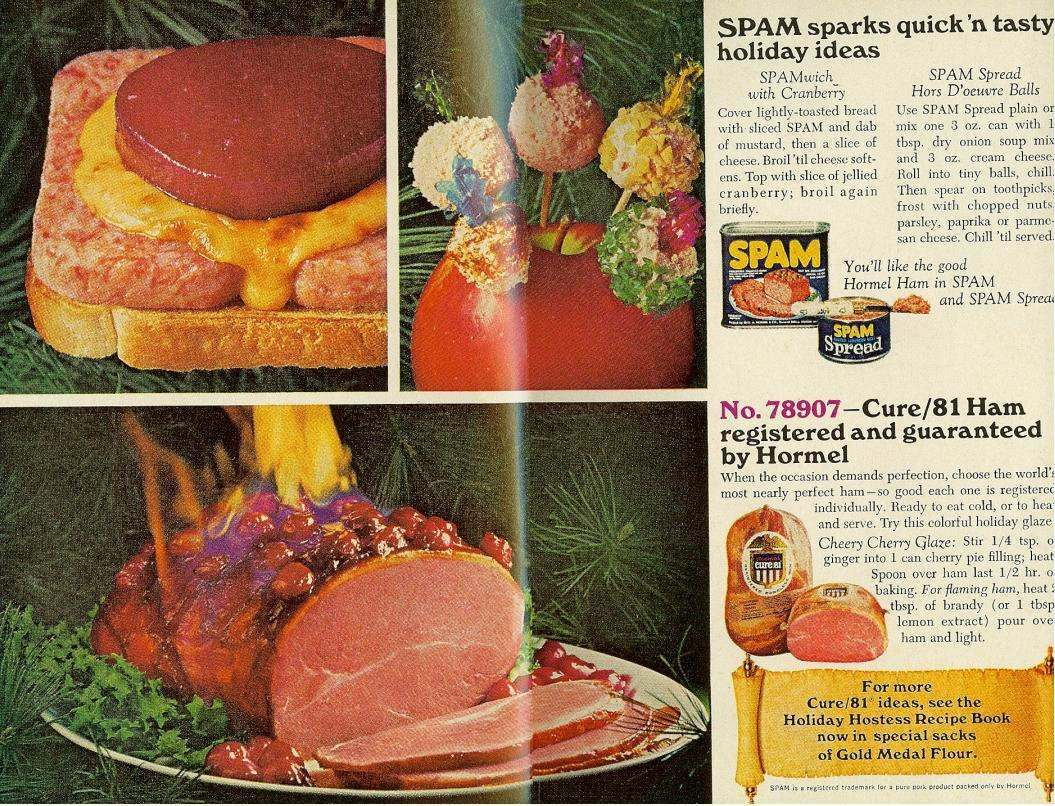 Spam ad From McCall's, December 1967