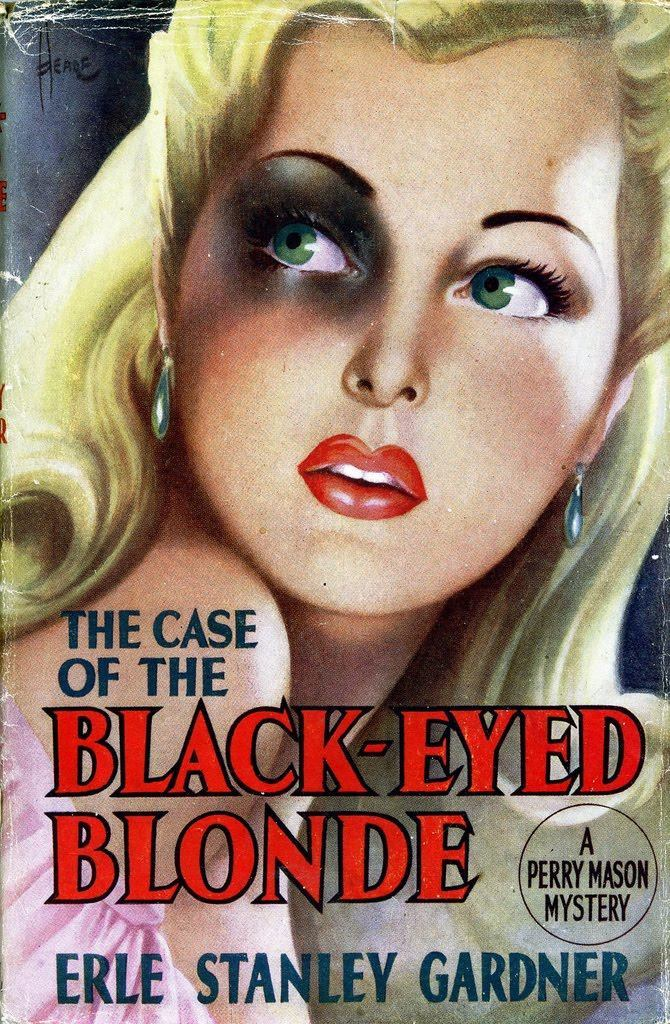 The Case of the Black Eyed Blonde Reginald Heade