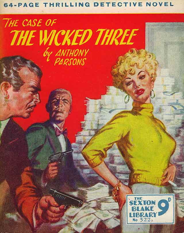The Case of the Wicked Three Reginald Heade