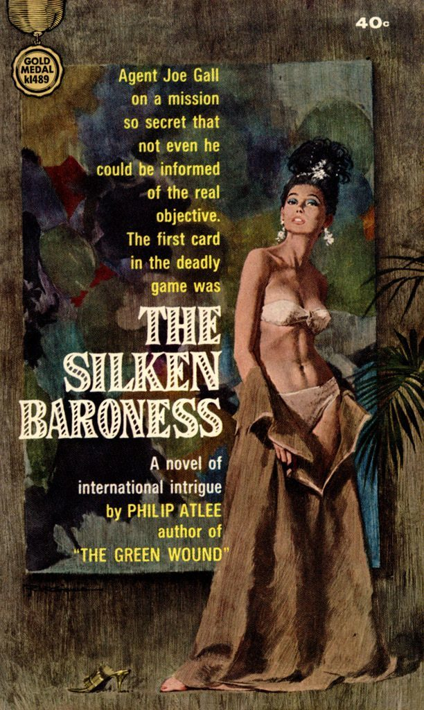 The Silken Baroness by Philip Atlee, 1964.