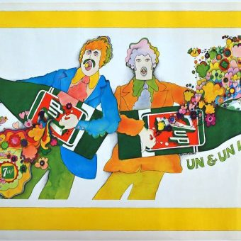 From Uncool to Uncola – The Fabulous Psychedelic 7-Up Ads 1969-1973