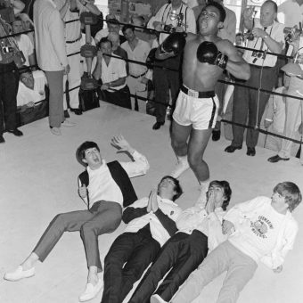 When The Beatles met Muhammad Ali in Miami (1964)