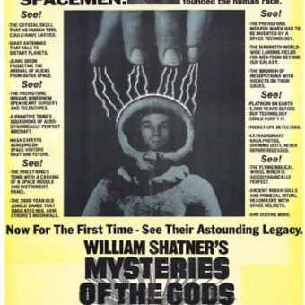 There Are Those Who Believe: The Ancient Astronaut Craze of the 1970s and 1980s