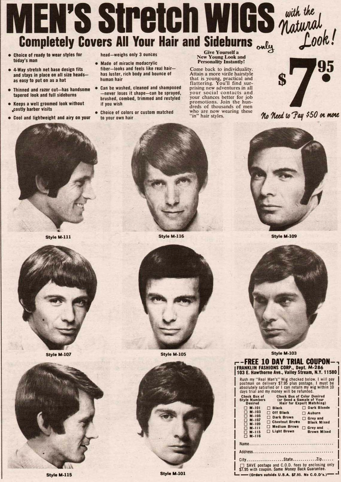 Vintage Hair Adverts 1960s 70s Products Styles And Tragic Cuts