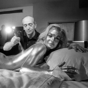 Brilliant Behind the Scenes Photos from the Bond Film 'Goldfinger'