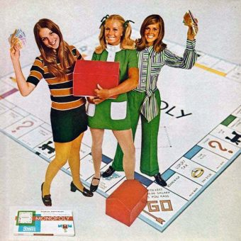 Miniskirts & Monopoly: 1969 Parker Brothers Fashions