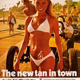 Let the Sunshine In: 1960s-70s Adverts in the Golden Age of the Tan