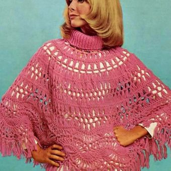 Shawlapalooza: 1960s and 70s Shawls O'Plenty