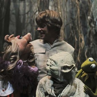 When Kermit met Yoda: The Muppets on set of 'The Empire Strikes Back'