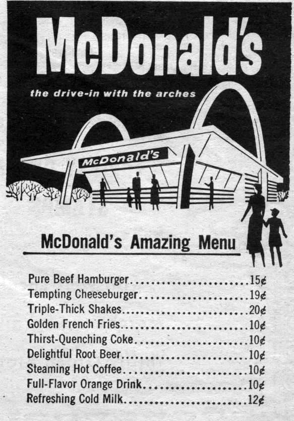 You Deserve a Break Today: 1960s-1980s McDonald's History ...