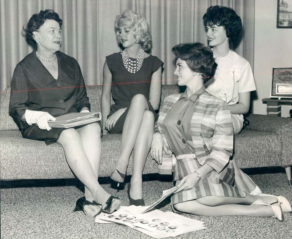 1961 Miss Denver, CO Contestants