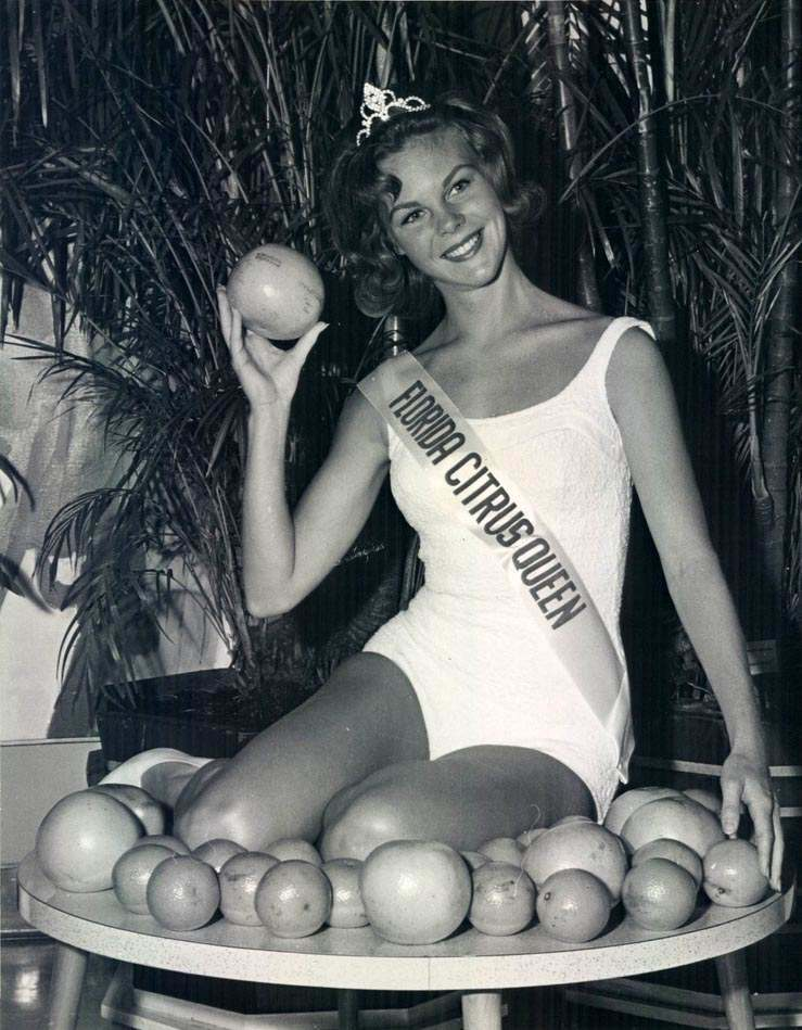 1965 Florida Citrus Queen