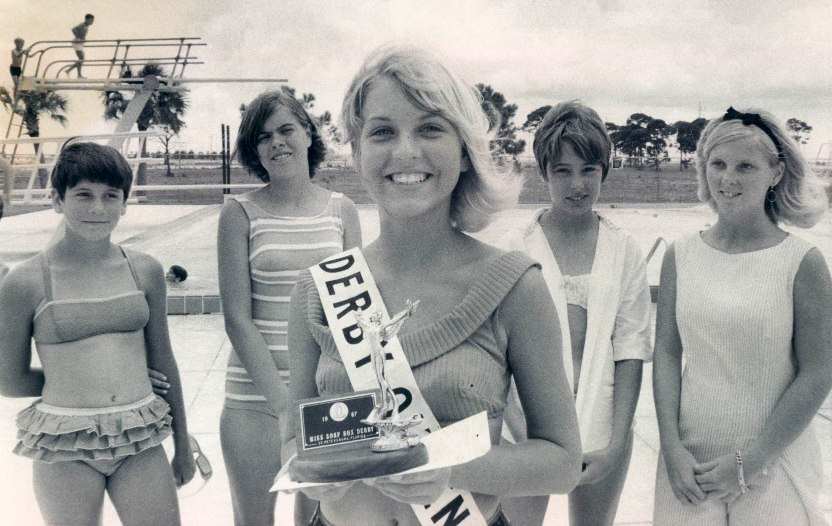 1967 St Petersburg Florida Miss Soap Box Derby