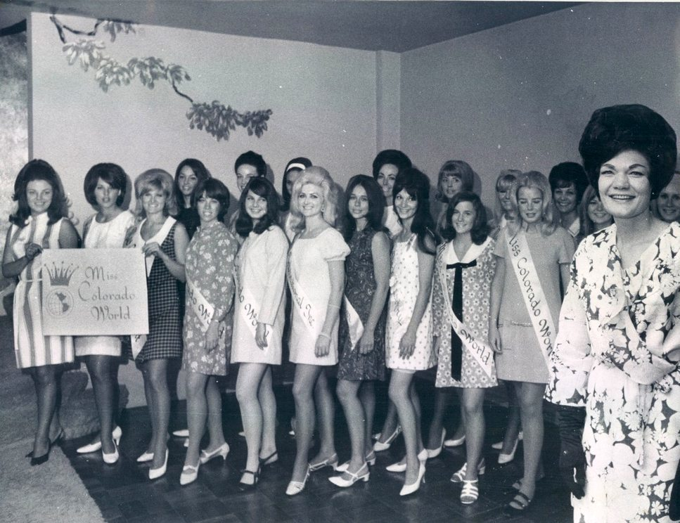 1968 Denver, Colorado Miss Colorado World