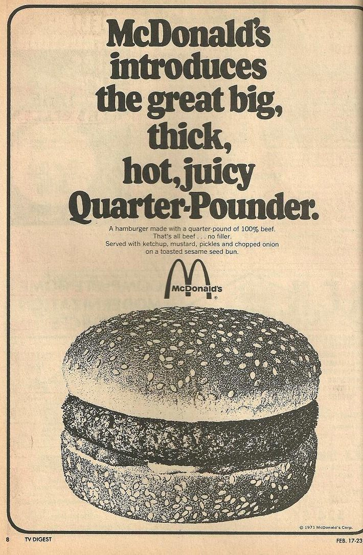 You Deserve a Break Today: 1960s-1980s McDonald's History in