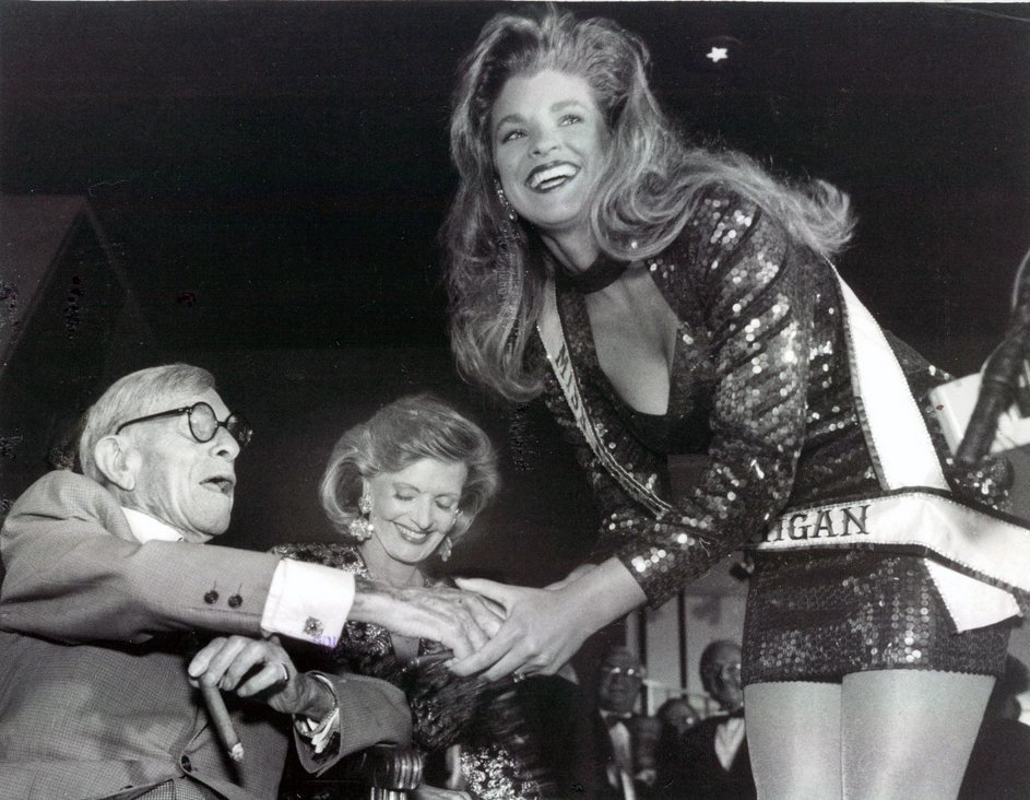 1992 George Burns Florence Henderson Miss Michigan