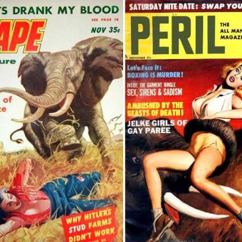 When Animals Attack!  A Menagerie of Deadly Beasts of the Pulps