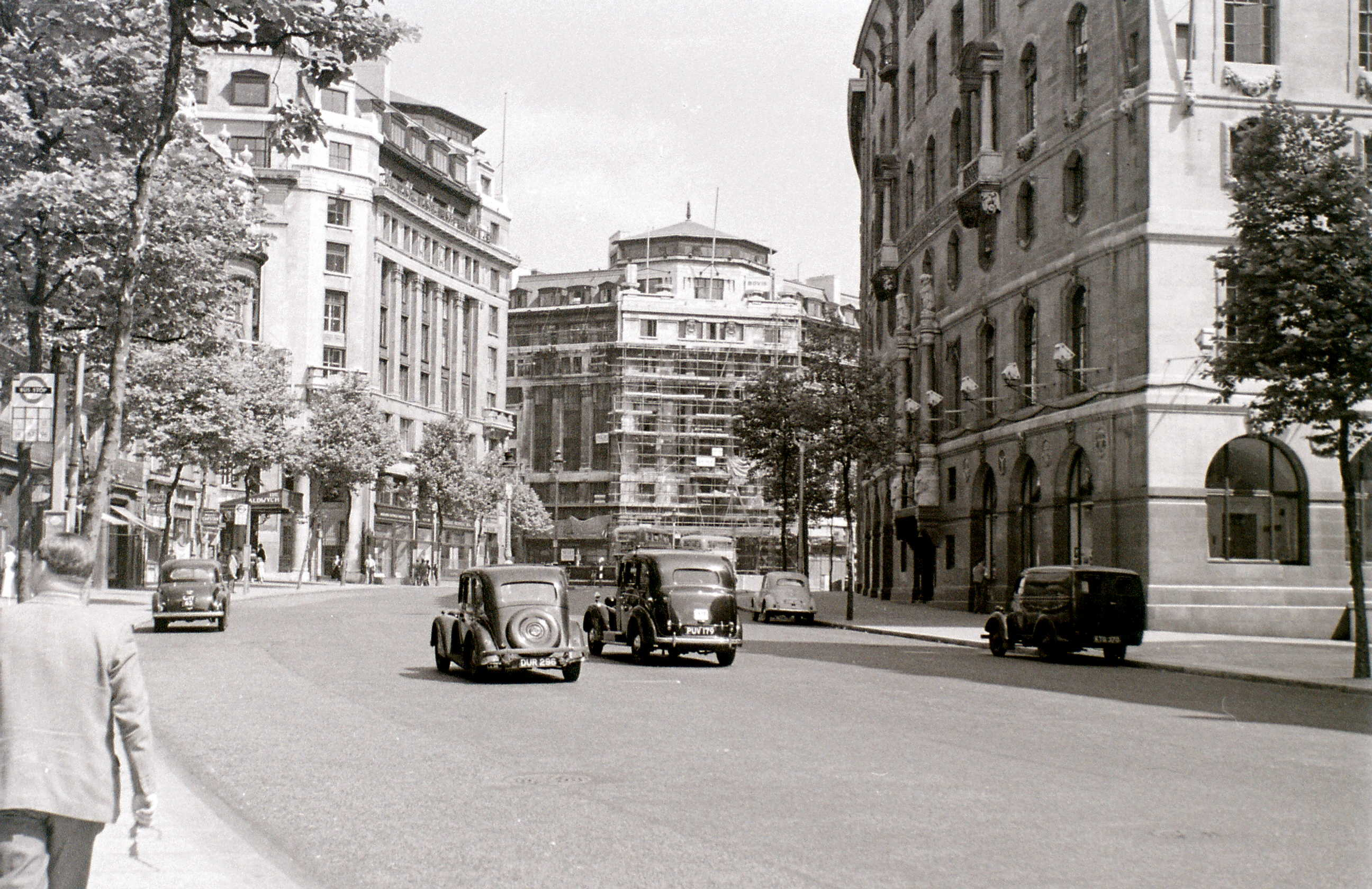 Aldwych, London, 1 August 1955