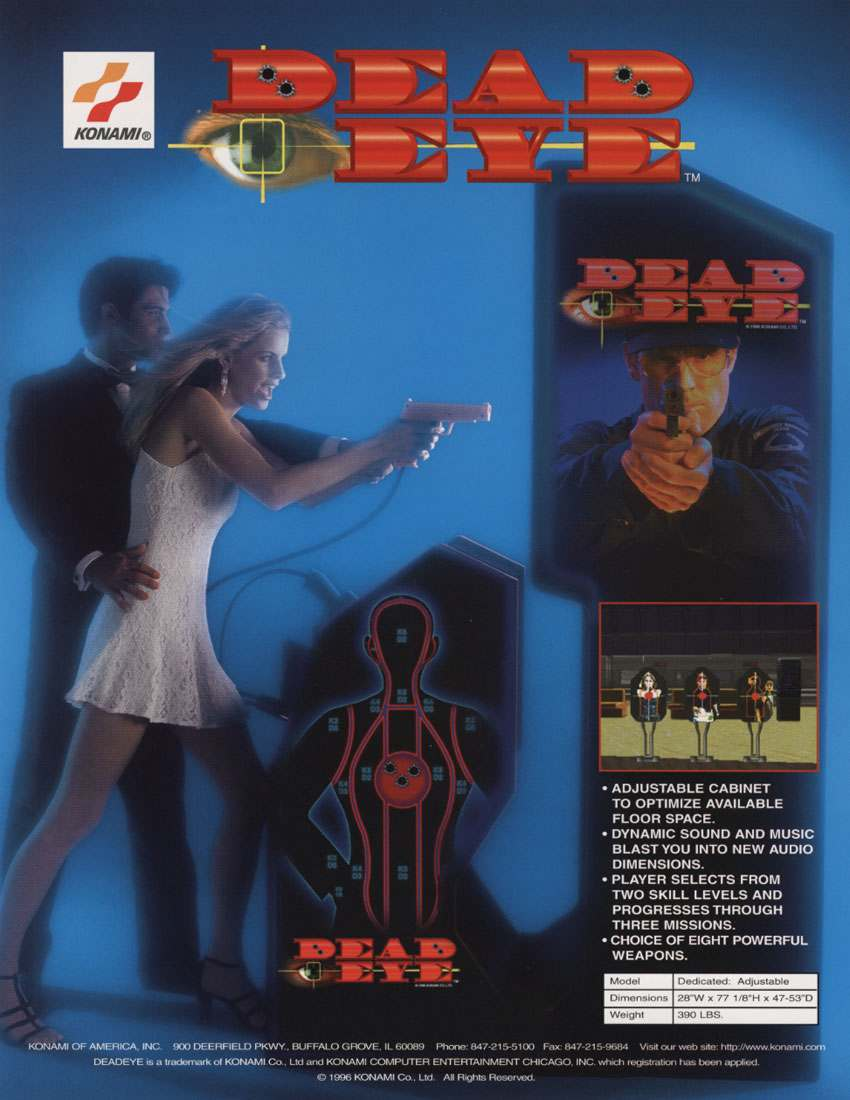 Arcade Girls - Années 90 - Video Game and Arcade Flyers - Mister Gutsy Post (3)
