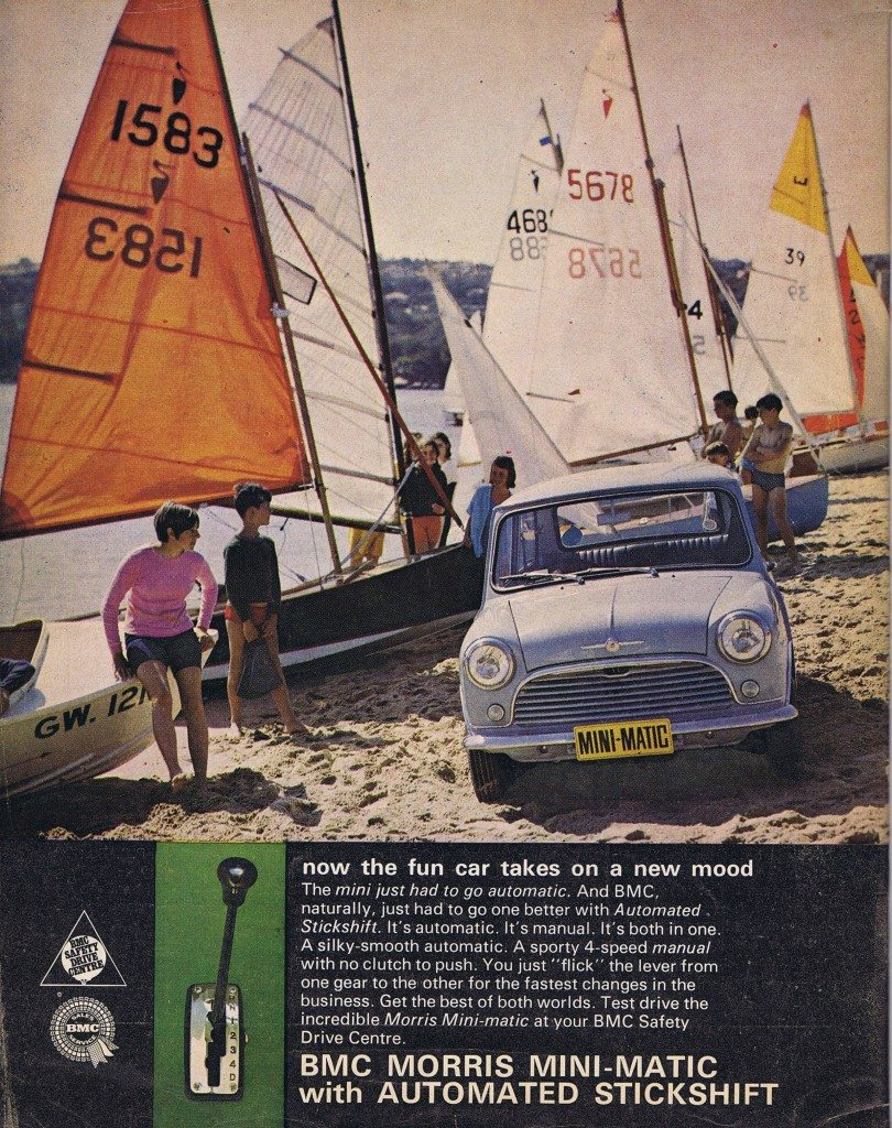 Mini advertising advert sixties