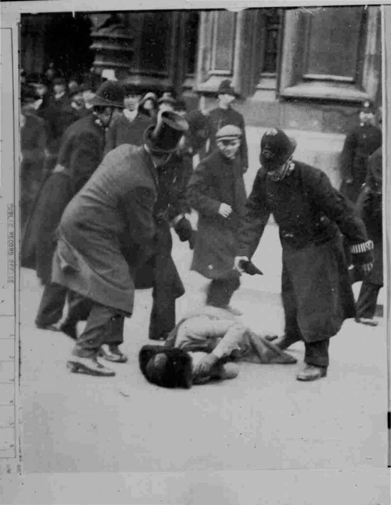 Black Friday 18th November 1910: This was the first time that Suffragette protests were met with violent physical abuse, however it was generally supported by the British population, who at the time were relatively opposed to women's franchise. Two women died as a result of police violence, and around two hundred women were arrested.
