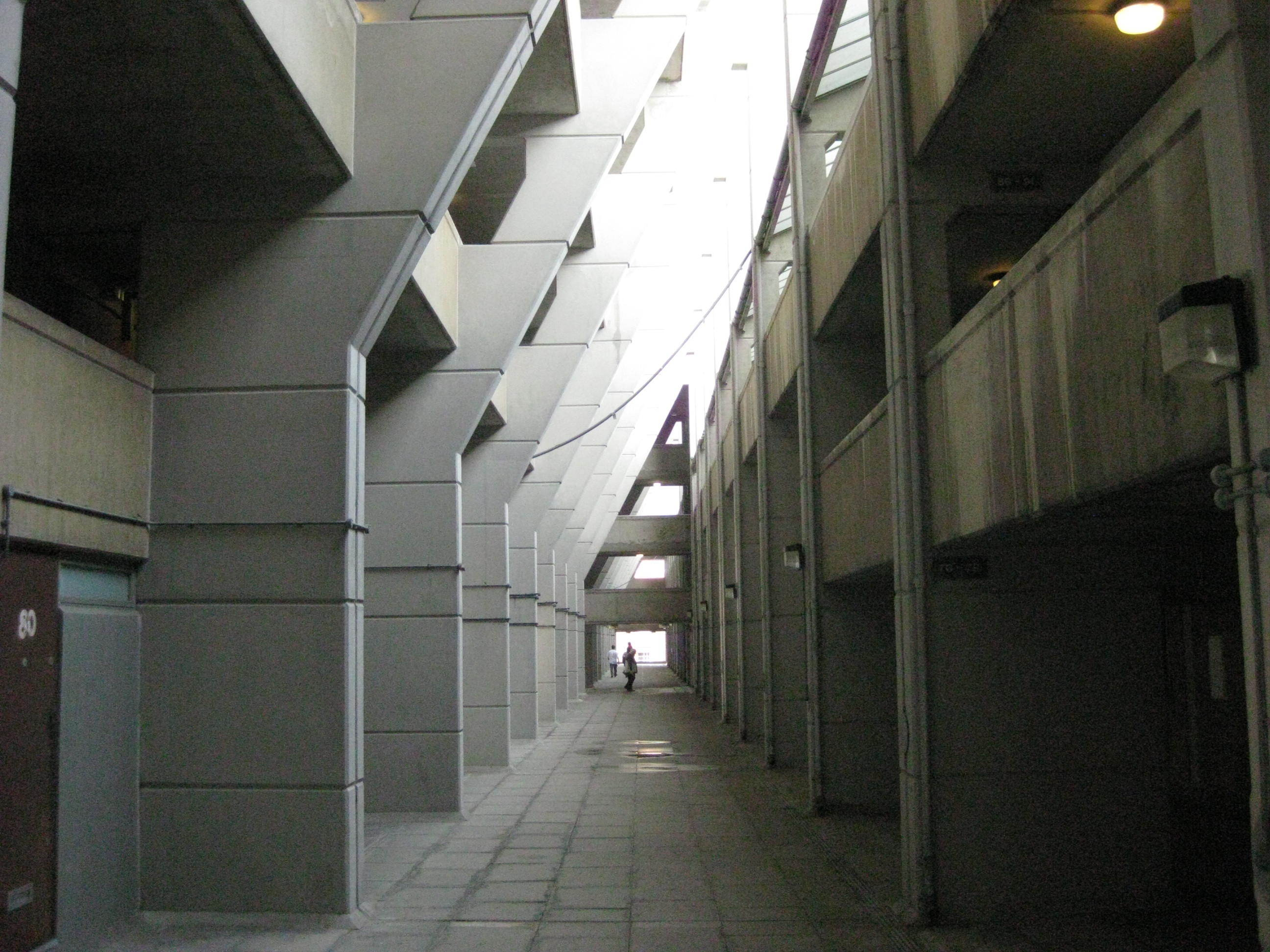 The interior of the Brunswick Centre, 2009.