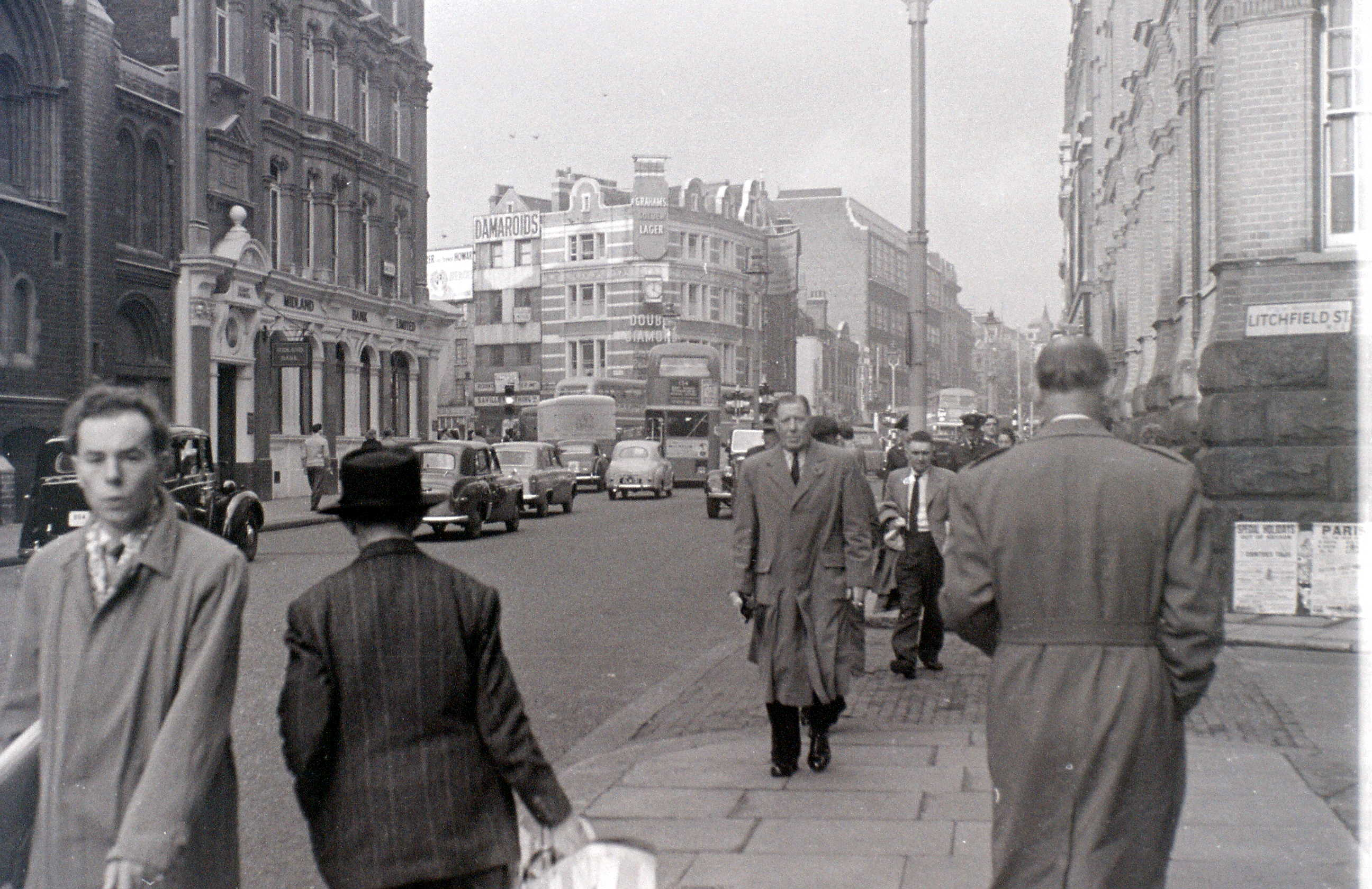 Charing Cross Road, London, 5 November 1955