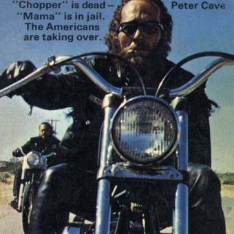 Bike Shed Library: No. 1: Chopper by Pete Cave (NEL, 1971)