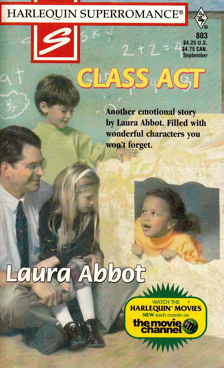 Class Act - by Laura Abbot - Harlequin Super Romance - # 803 - 1998