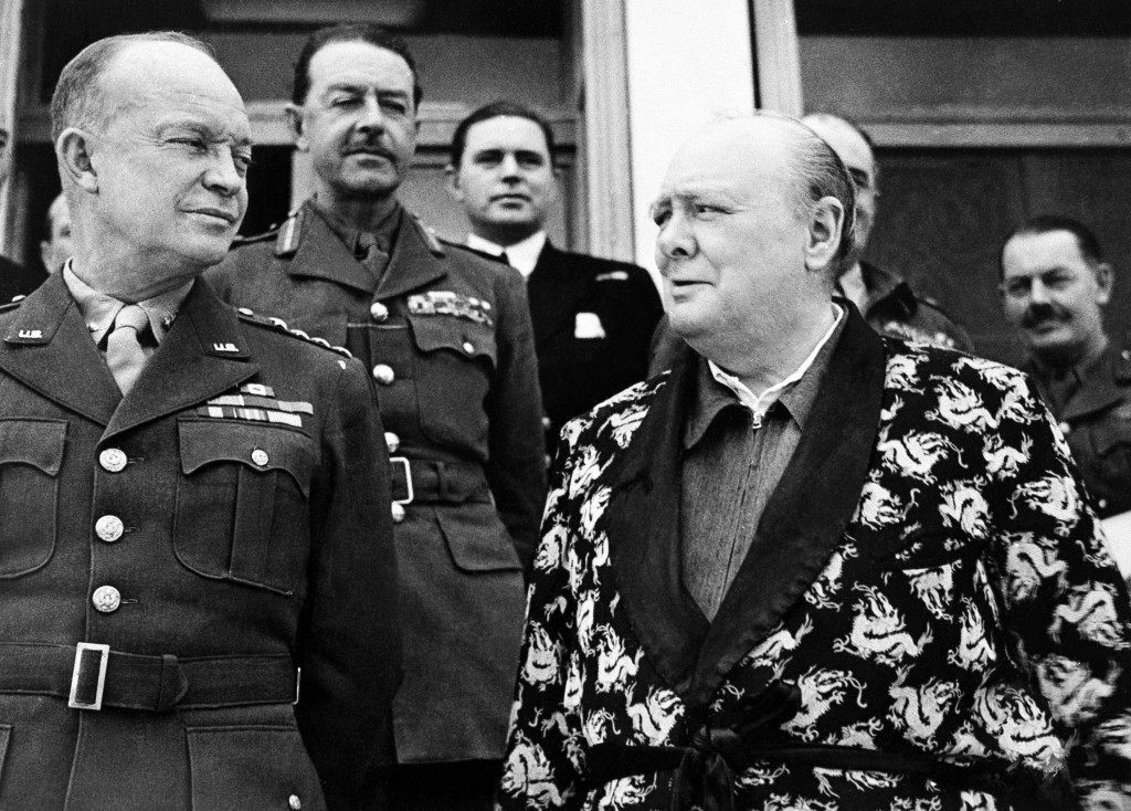 WWII Churchill Christmas 1943