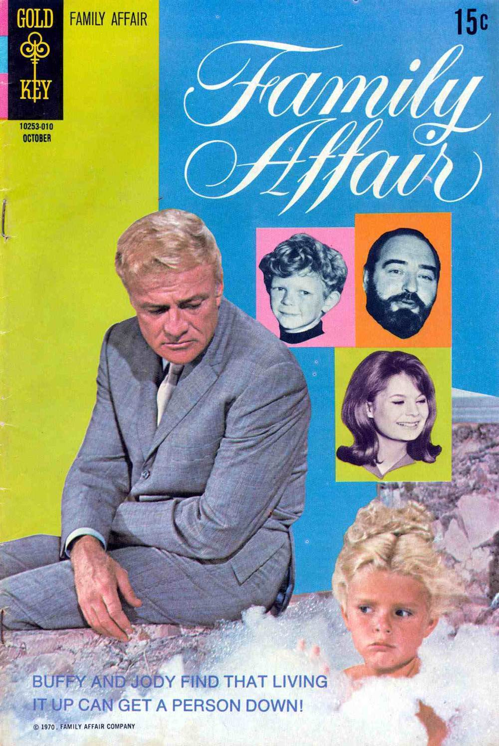 Family Affair, No. 4 (October 1970) Gold Key