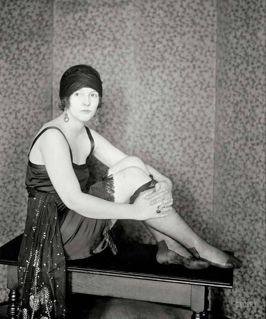 Flapper from 1922.
