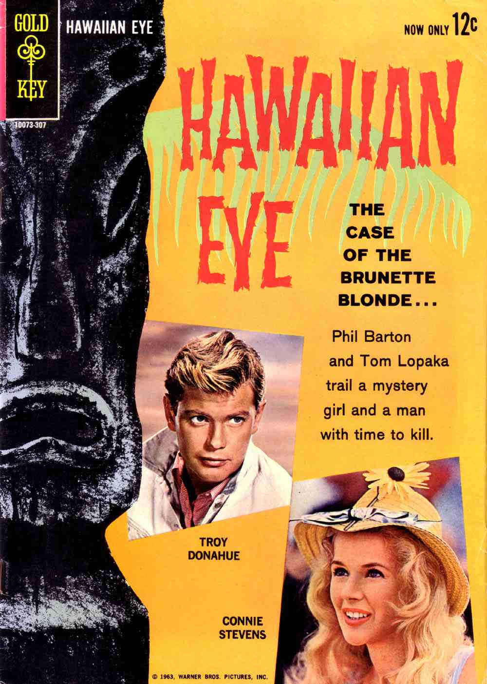 Hawaiian Eye No.1 (1963) Gold Key