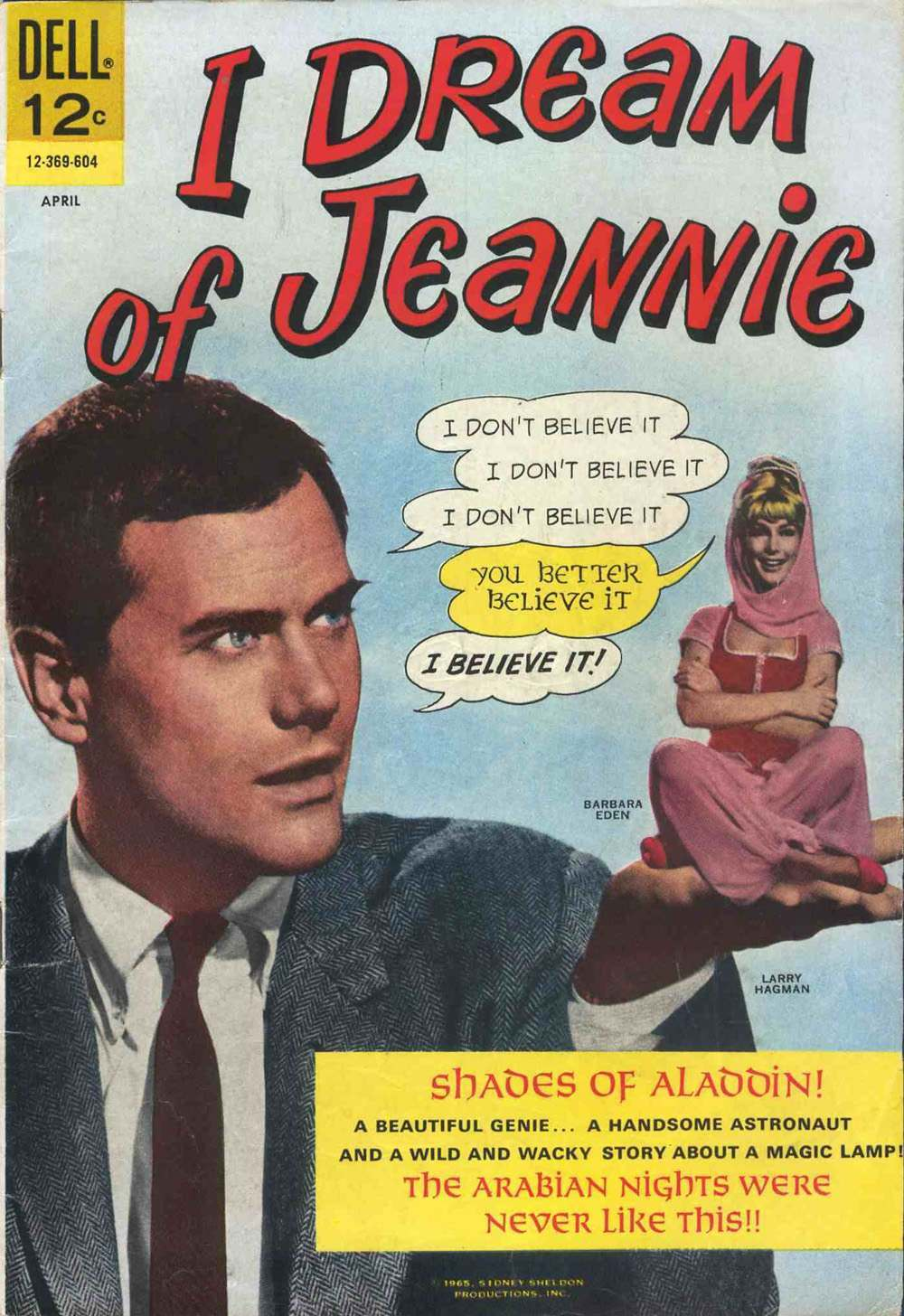 I Dream of Jeannie No.1 (April 1966) Dell