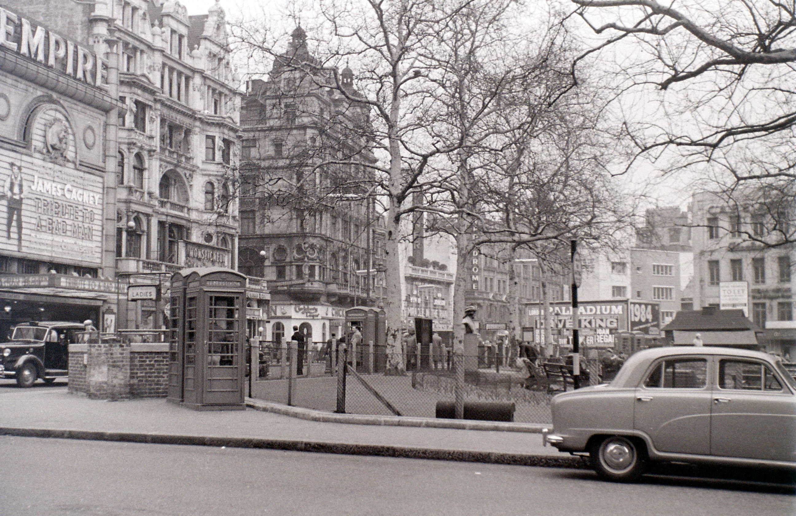 Leicester Square, London, 2 April 1956.