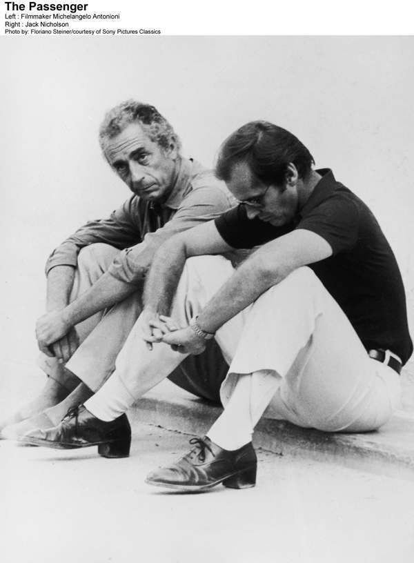 Antonioni and Nicholson