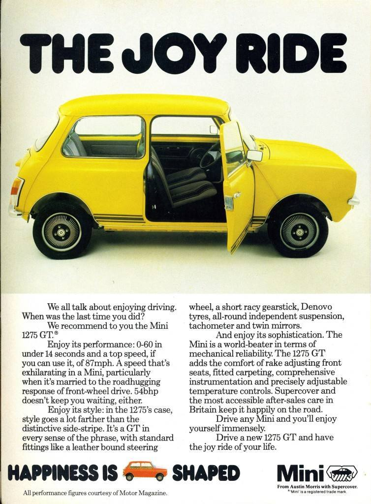 Mini adverts advertising