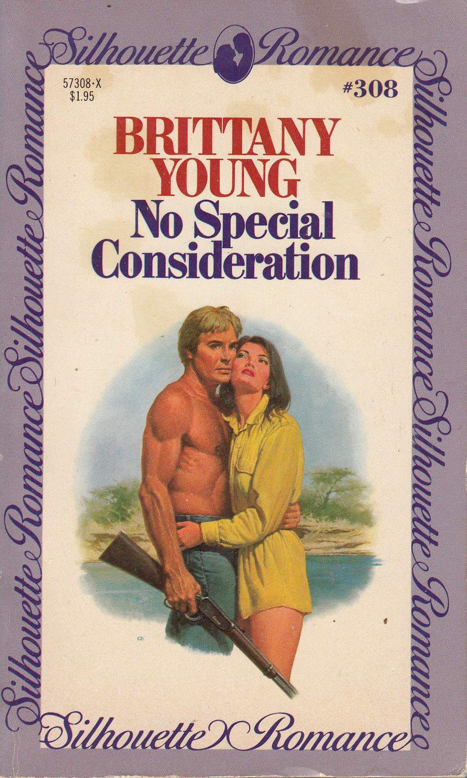 No Special Consideration - by Brittany Young - Silhouette Romance - # 308 - 1984