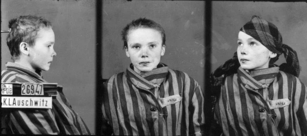This is a prisoner identity photo provided by the Auschwitz Museum, taken by Wilhelm Brasse while working in the photography department at Auschwitz, the Nazi-run death camp where some 1.5 million people, most of them Jewish, died during World War II. The Nazis sent Brasse to the camp as a Polish political prisoner in 1940, where he estimates that he took some 40,000 to 50,000 such identity pictures for the Nazis. (AP Photo/Auschwitz Museum) Ref #: PA.2966321