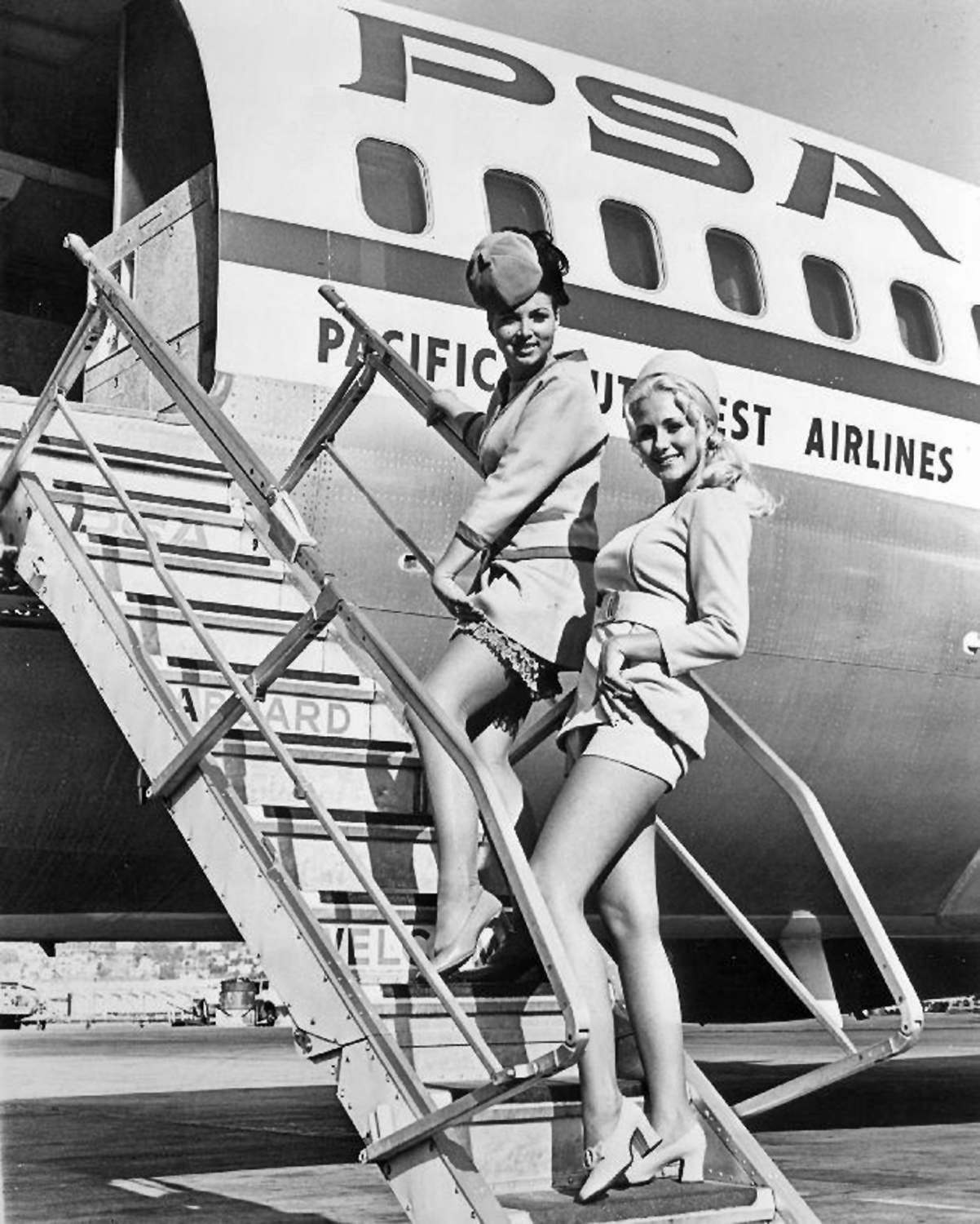 Airline Milf the groovy age of flight: a look at stewardesses of the
