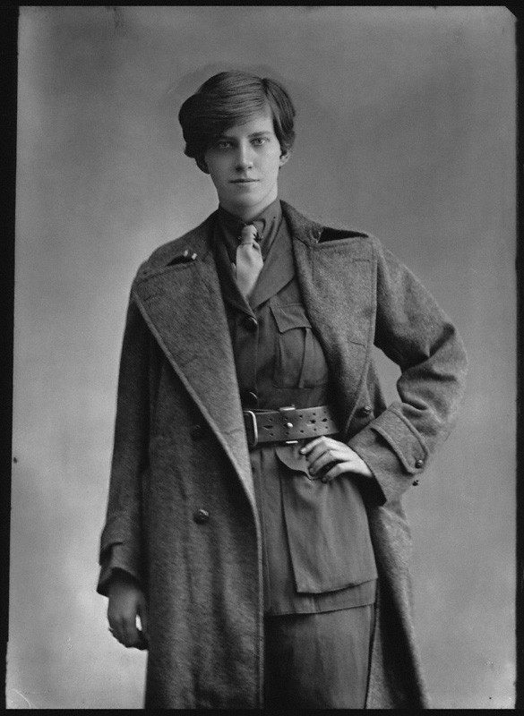 Rotha Beryl Lintorn-Orman by Bassano. The photograph is from 1916, seven years before she started the UK's first fascist party.
