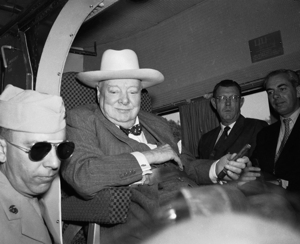 Winston Churchill in U.S.